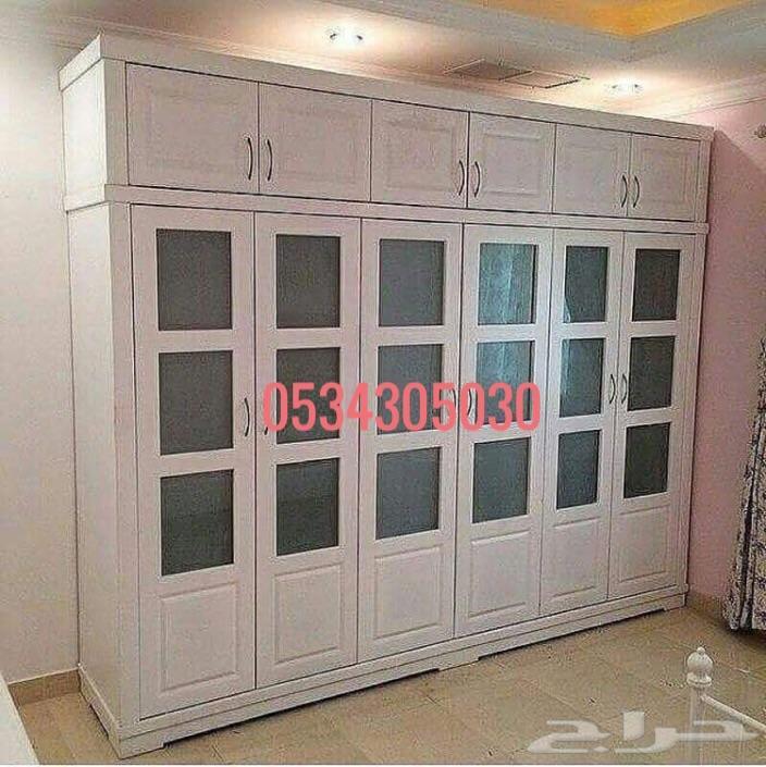 نجار اثاث لغرف الملابس وغرف النوم