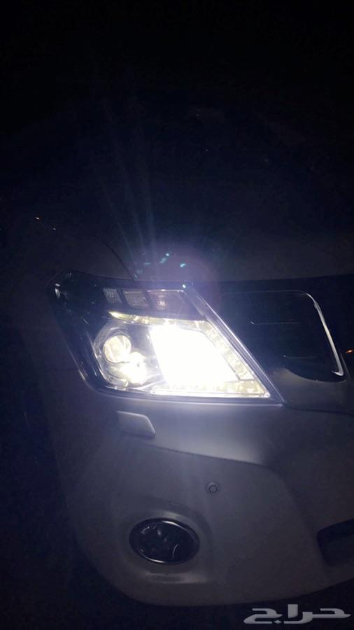 نور عالي ابيض ع الباترول LED