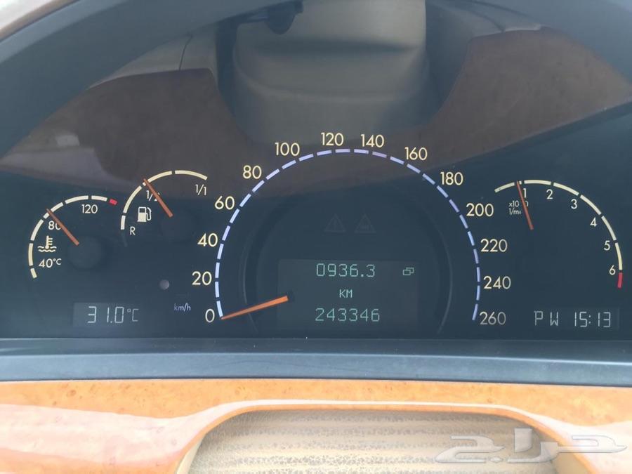 مرسيدس S320 2002 الجفالي