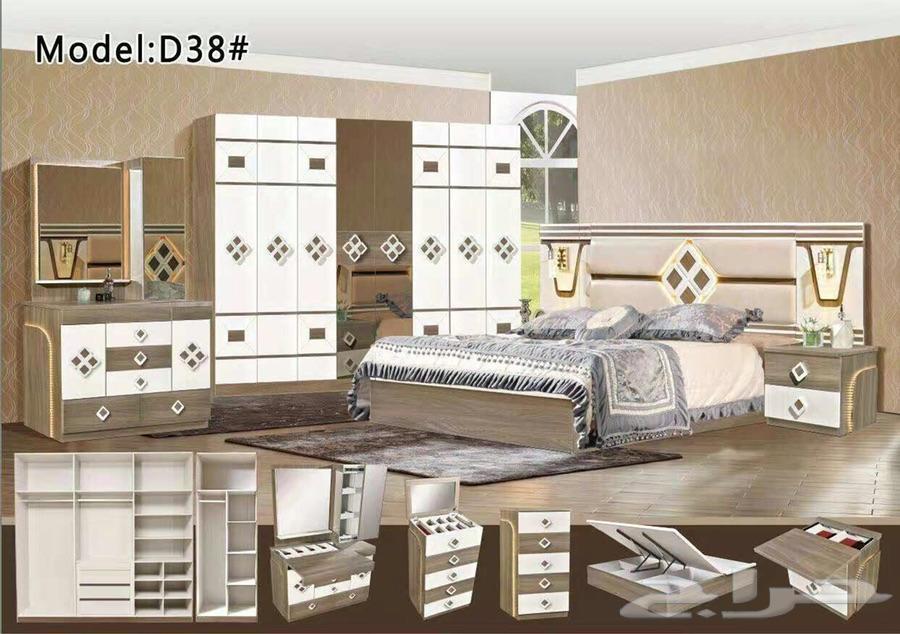 غرفة النوم صيني 8 باب التركيب مجاني