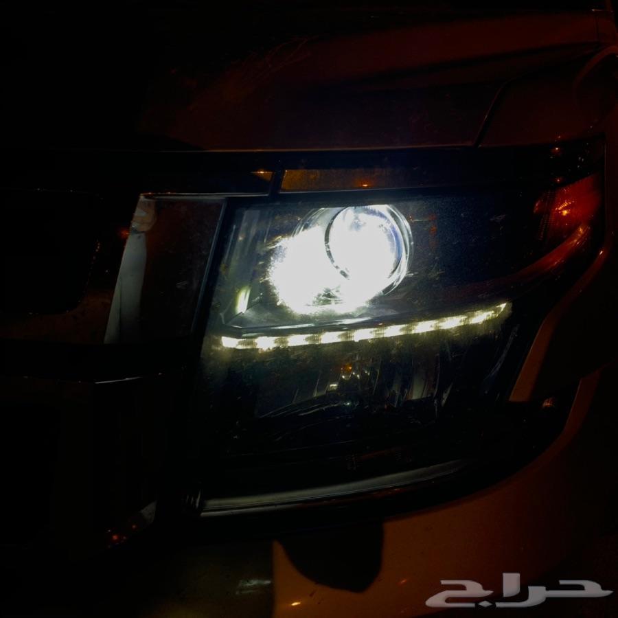 نور واطي ابيض ع التاهو LED