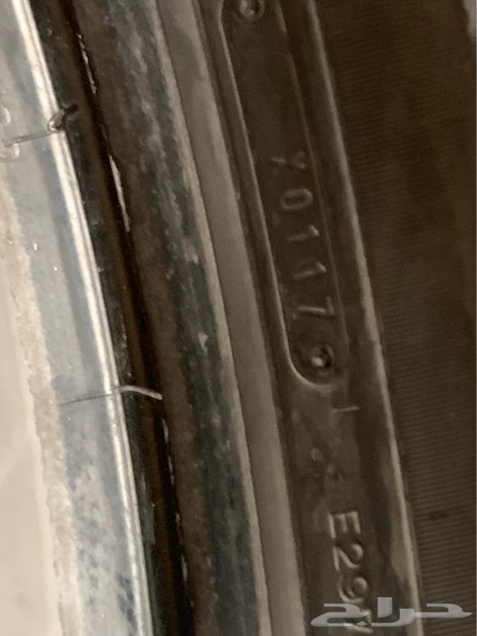 كفرات لاندكروزر  مقاس 18 دنلوب مستعمله
