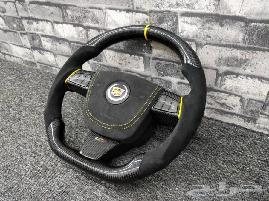 carbon fiber steering cts v