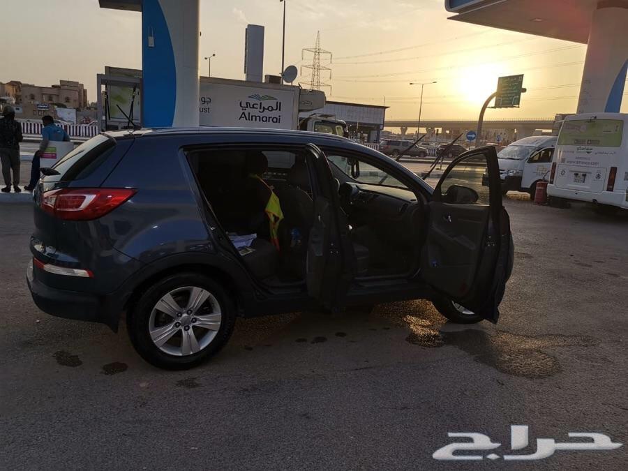 الرياض - كيا سبورتاج 2013