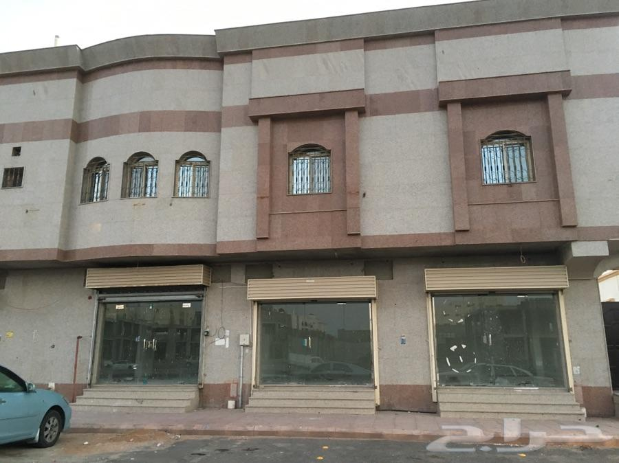 rlm للإيجار محلات على شارع أسماء ام المانيع