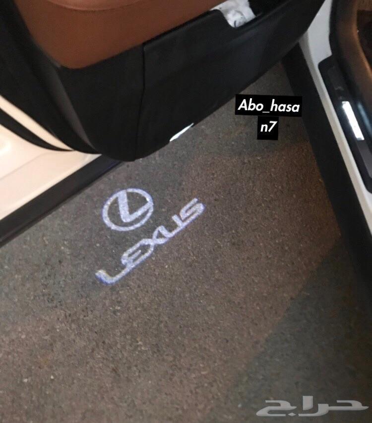 حامل اكواب مضيء و شعار لكزس_BMW