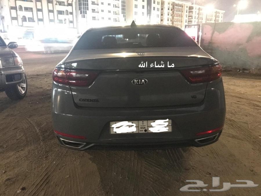 كيا كادينزا  للتنازل عن طريق بنك الرياض