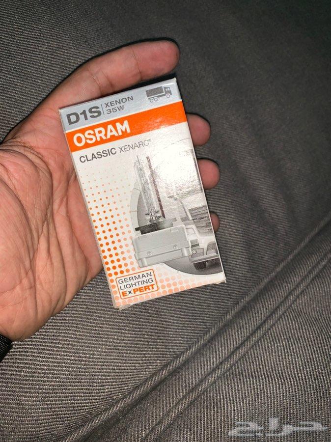 طقم شمعات اوسرام الماني اصلي D1S جديدة