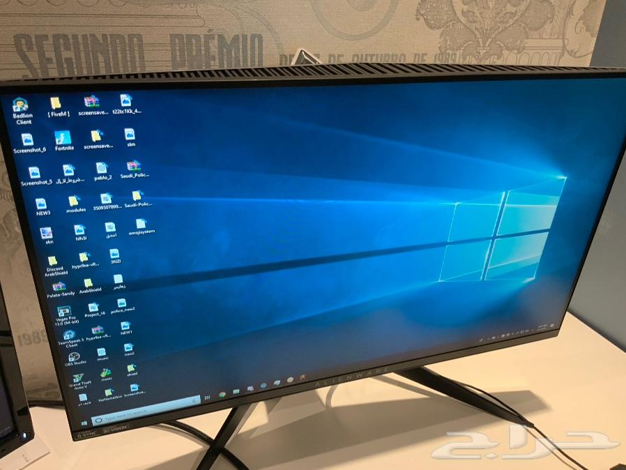 حراج الأجهزة | Alienware AW2518H 240hz monitor