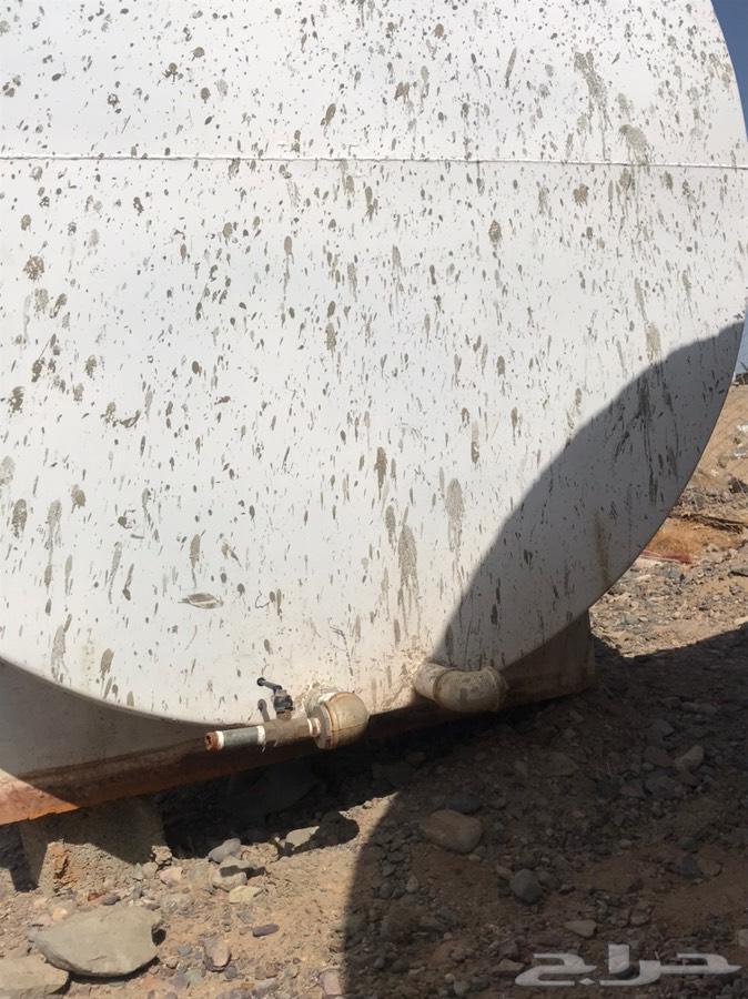 خزان ماء للبيع 18 طن