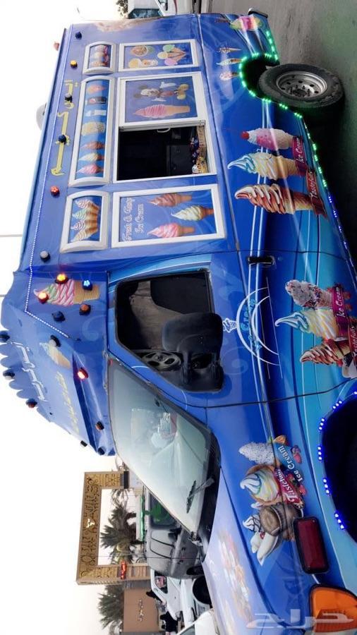 سيارة ايسكريم ديزل