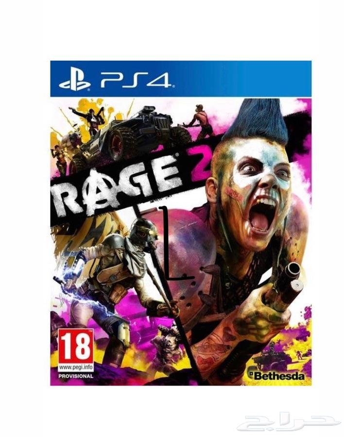 لعبه Rage 2  شريط سوني فور ps4