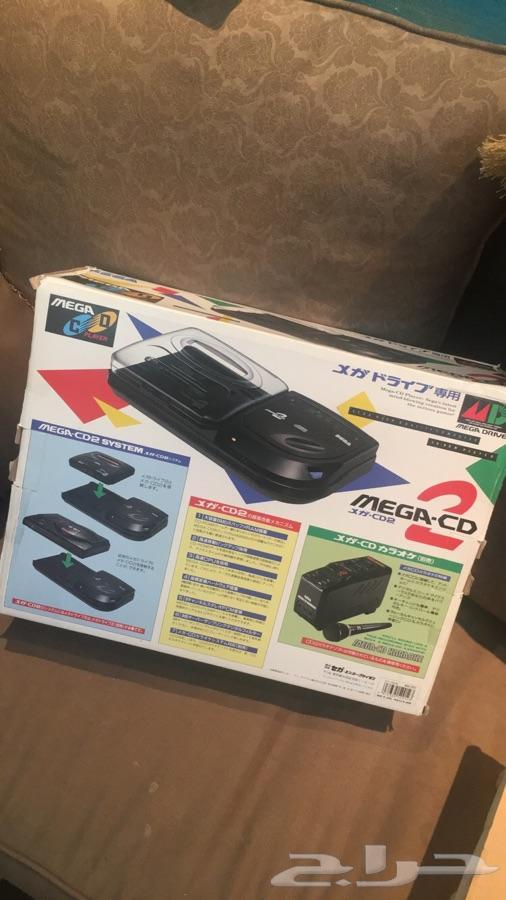 للبيع جهاز سيجا CD جديد بكرتونه