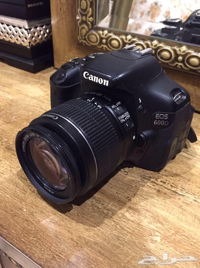 كاميرا كانون D600 ( الرياض )