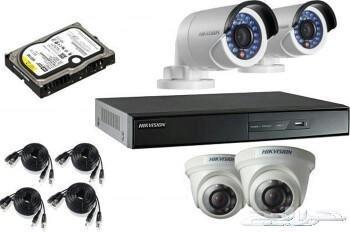 مؤسسة توريد وتركيب كاميرات مراقبة