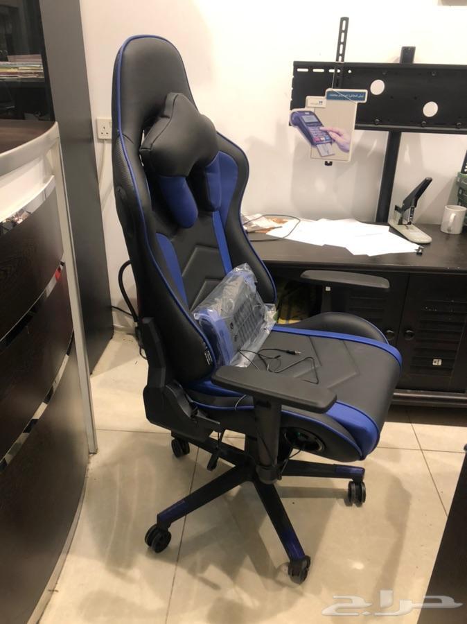 كرسي قيمز بنظام سماعات ومكبر صوت قوي