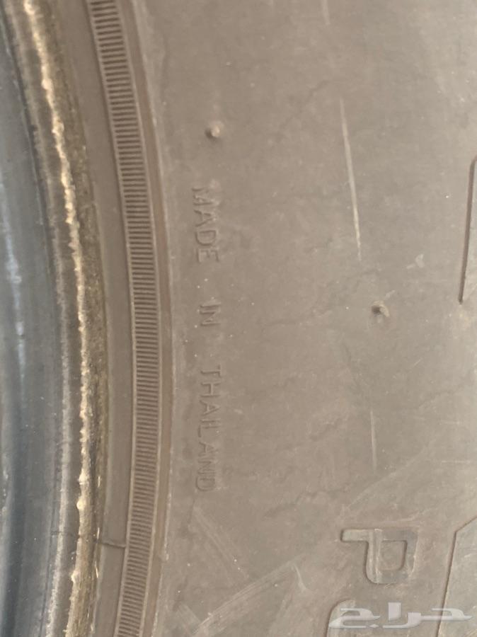 للبيع كفرات جيب باترول مقاس265 70R18.