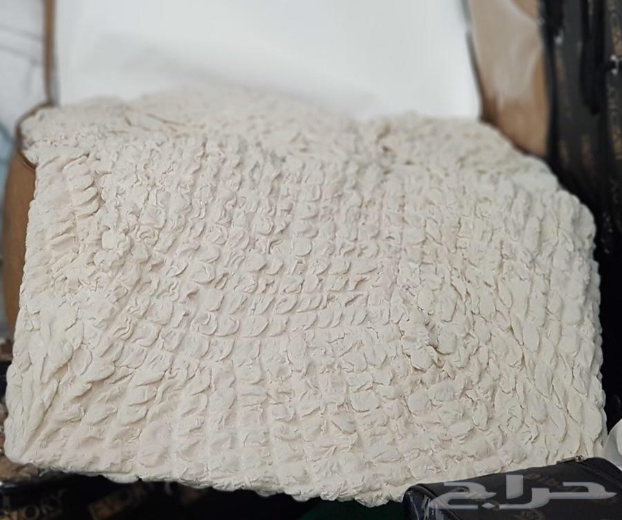 أغطية لجميع انواع الكنب جاهز وتفصيل