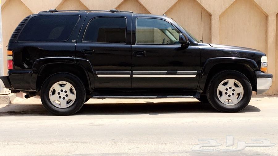 للبيع تاهو أسود ملكي  موديل 2005