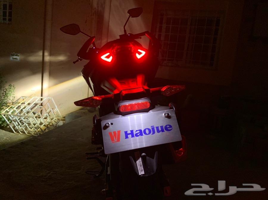 دباب Haojue DR160 2019 شبه جديد