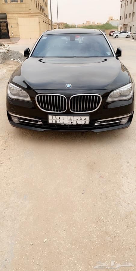 BMW 2014 حجم 740