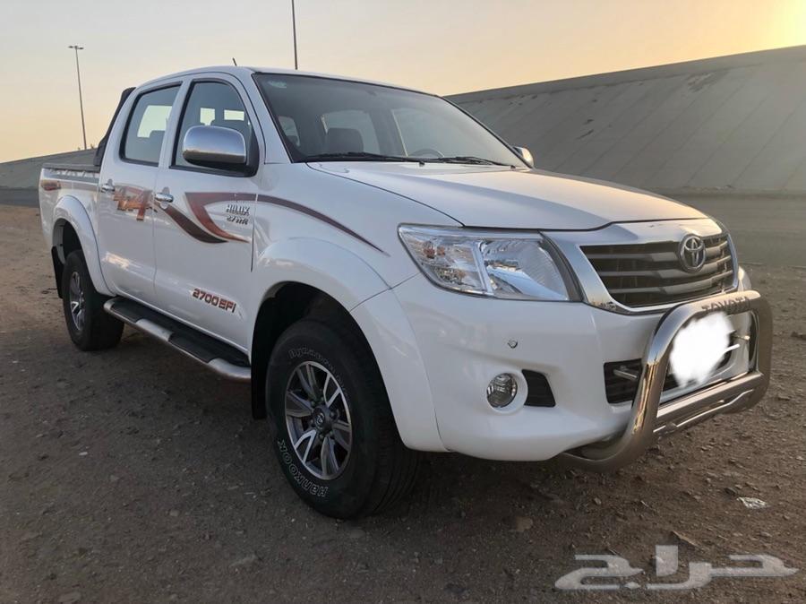 تويوتا -هايلوكس -2014 -سعودي -دبل -GLX