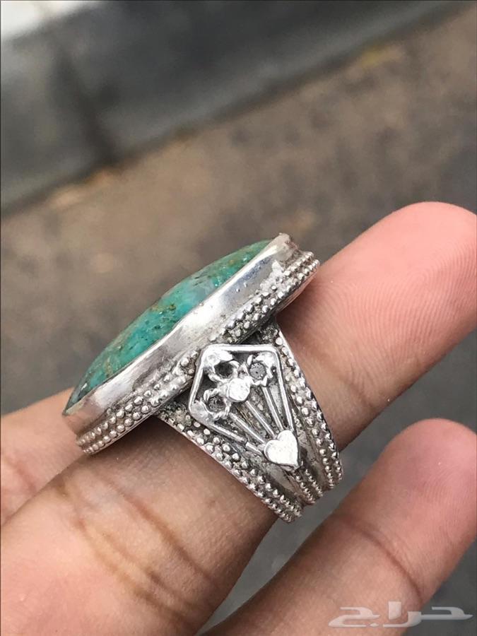خاتم فيروز للبيع صياغة عمانية قديمة