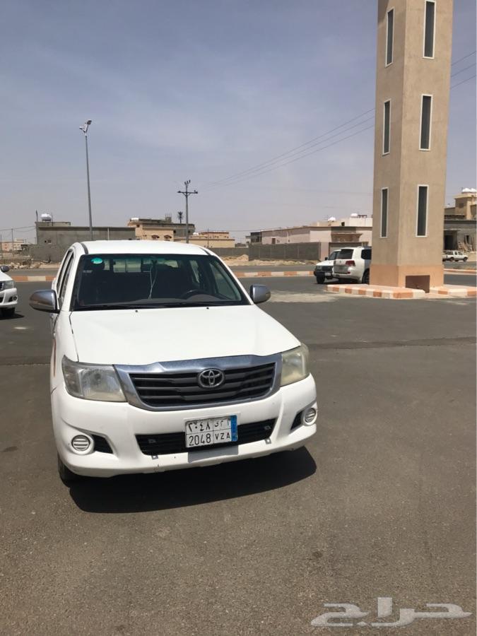 للبيع هايلوكس2013الموقع بيشه بدون نقل
