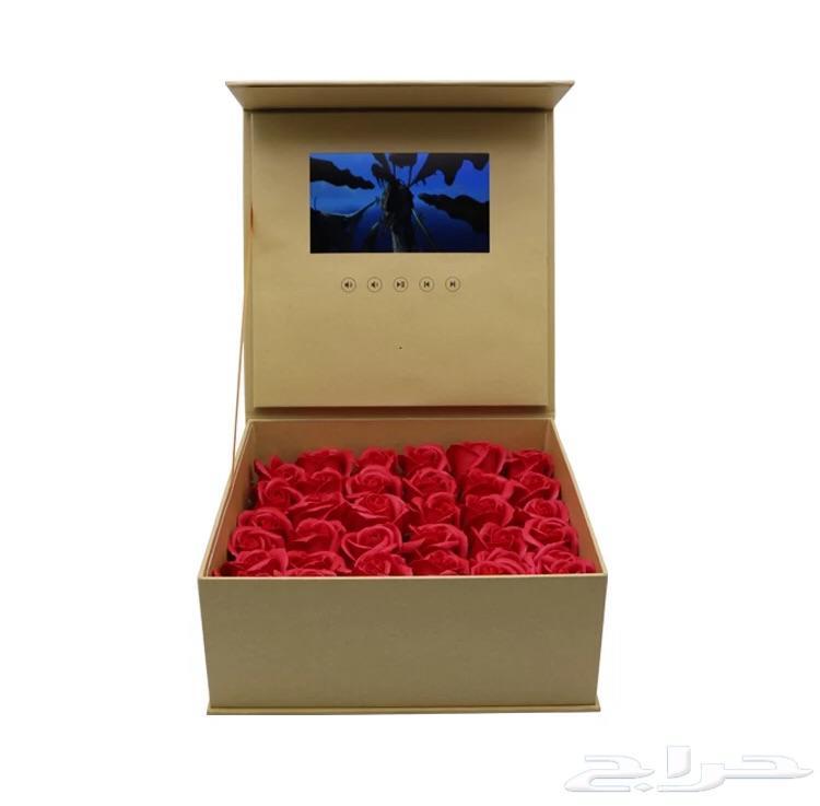 صندوق هدايابشاشة فديو و بوكس القنبلة
