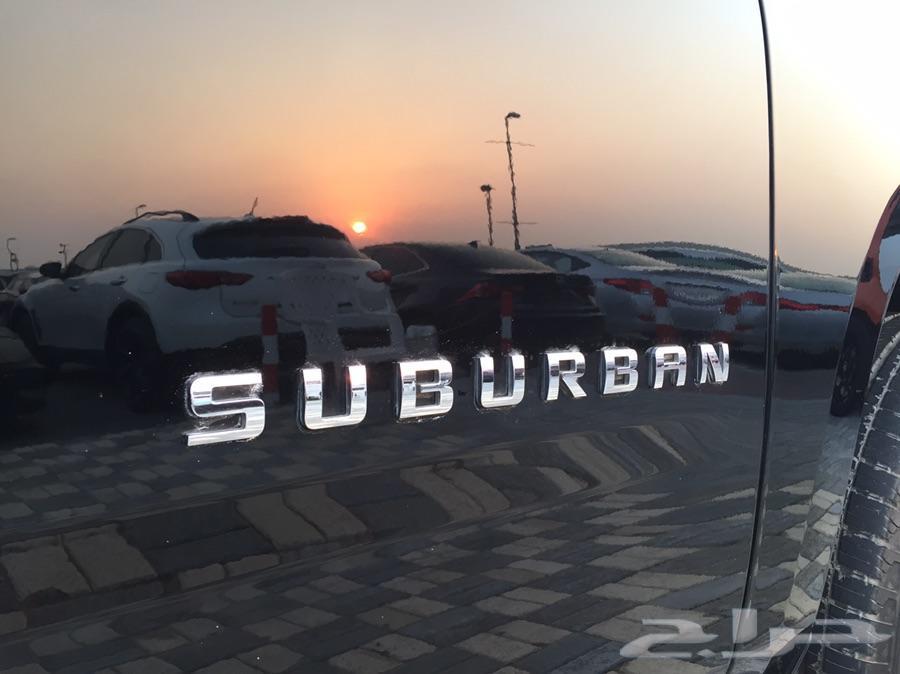 شيفرولية سوبربان  2015 دبل  GCC