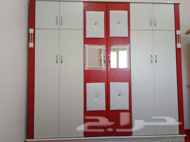 غرف نوم جديدة ألوان مختلفة السعر1300ريال
