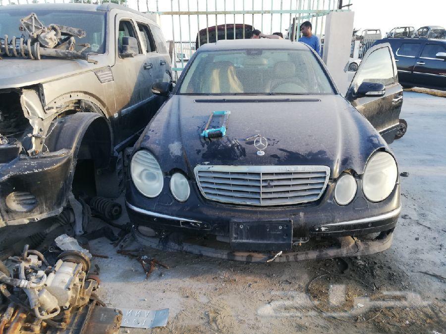 مرسيدس تشليح E280 قطع غيار 2009