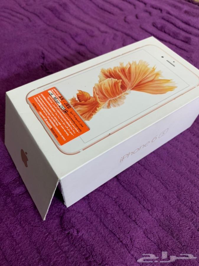 جوال ايفون جهاز 6s روزقولد 64GB