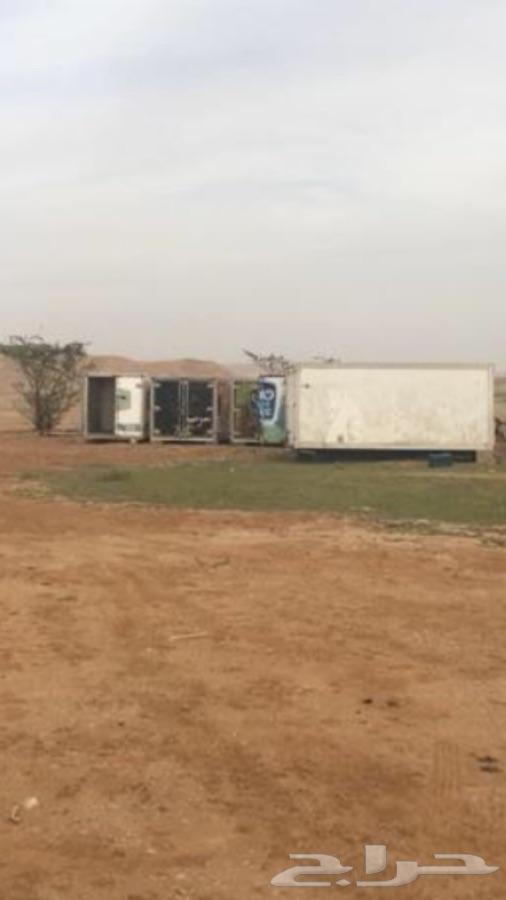 8 ثلاجات دينا بدون سيارات لتخزين التمر