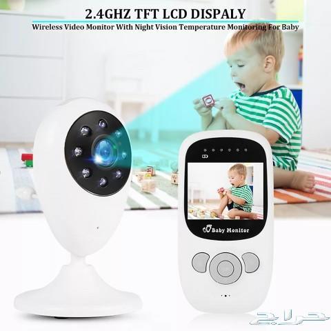 كاميرا مراقبة الأطفال والخدم لاسلكية \n تتكون