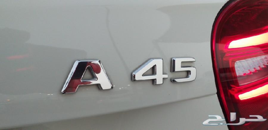 مرسيدس A 45 AMG 2018 - تم البيع -