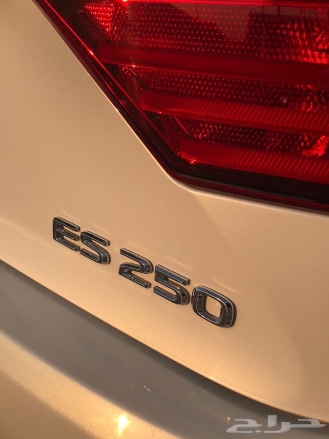 لكزس ES250 خليجي 2015 (( تم البيع ))