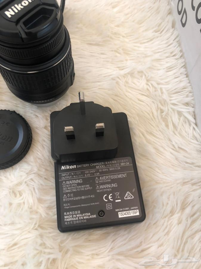 كاميرا نيكون D5200 شبه جديده  ابها