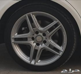 طقم جنوط مرسيدس E300 AMG 2016 للبيع