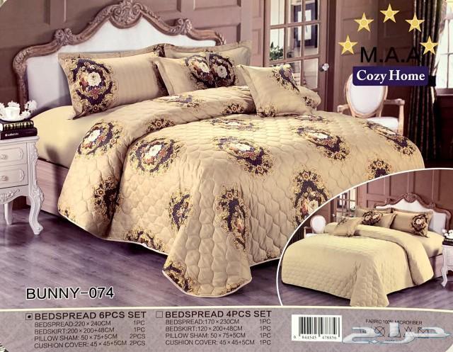 تلبيسات كنب وسجاد ومفارش سرير