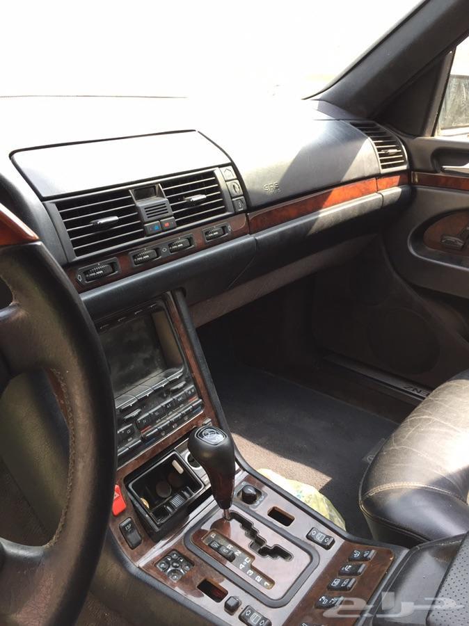 للبيع شبح 1997 S600 تشليح قطع.