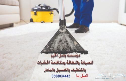 شركه تنظيف الخزانات وعزل و مكافحة الحشرات مكه