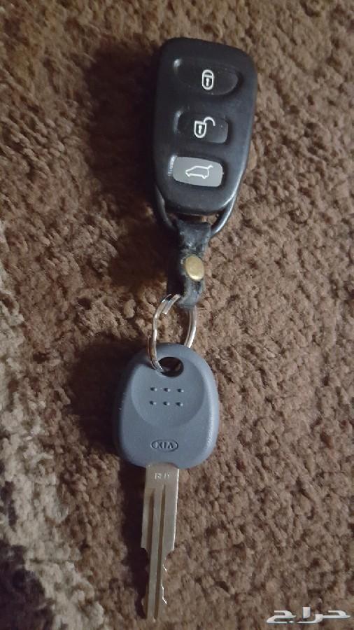 مفتاح مع الريموت لجيب كيا سورينتو 2009 وكاله