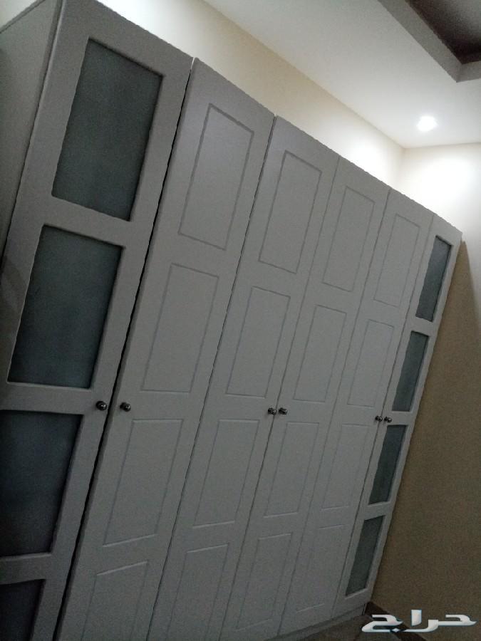غرفه نوم استخدمت 1شهر واحد بس وسرر بقراطيسها