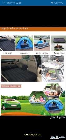 سرير هوائي للسيارات قابل للنفخ