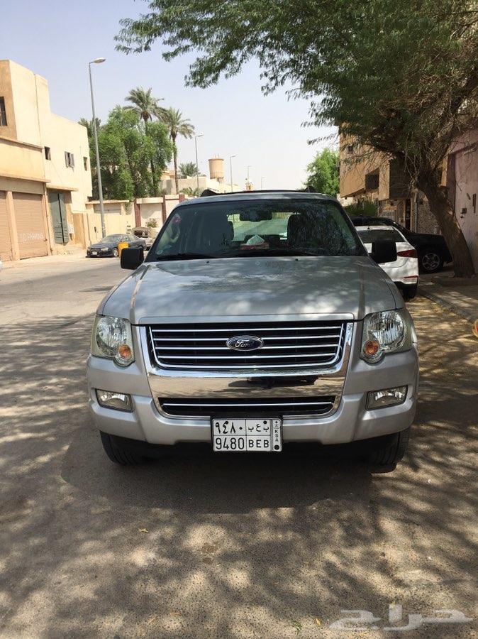 فورد إكسبلورر 2010 سعودي ممشاه قليل 116
