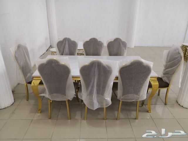 طاولات طعام رخام بسعر العرض