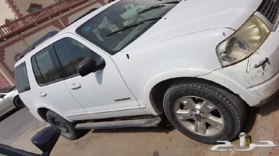 اللبيع سياره اكسبلور دبل2005