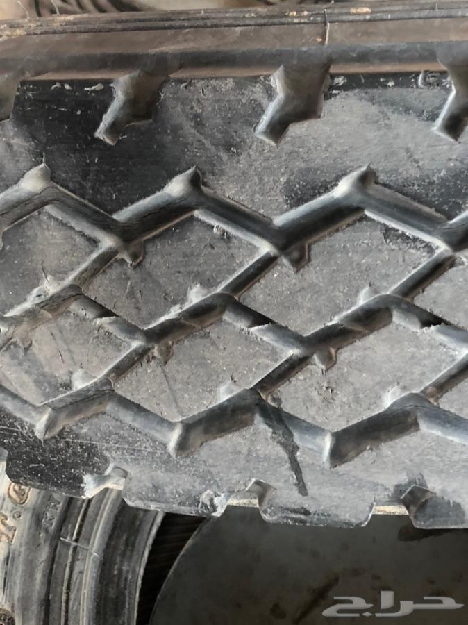 كفرات ربع 4 طقم مستعمل للبيع تاريخ 2008