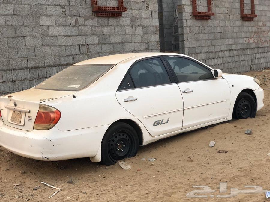 كامري 2006 GLi للبيع تشليح كامل